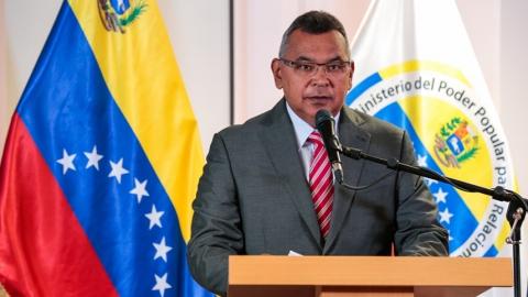 Interior Minister Nestor Reverol announces crime figures for the first half of 2018